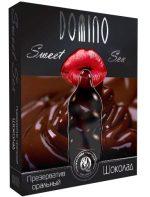 Презерватив DOMINO Sweet Sex Шоколад - 3 шт.