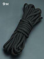 Черная веревка для связывания - 9 м.
