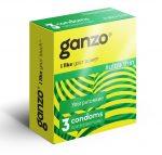 Ультратонкие презервативы Ganzo Ultra thin - 3 шт.