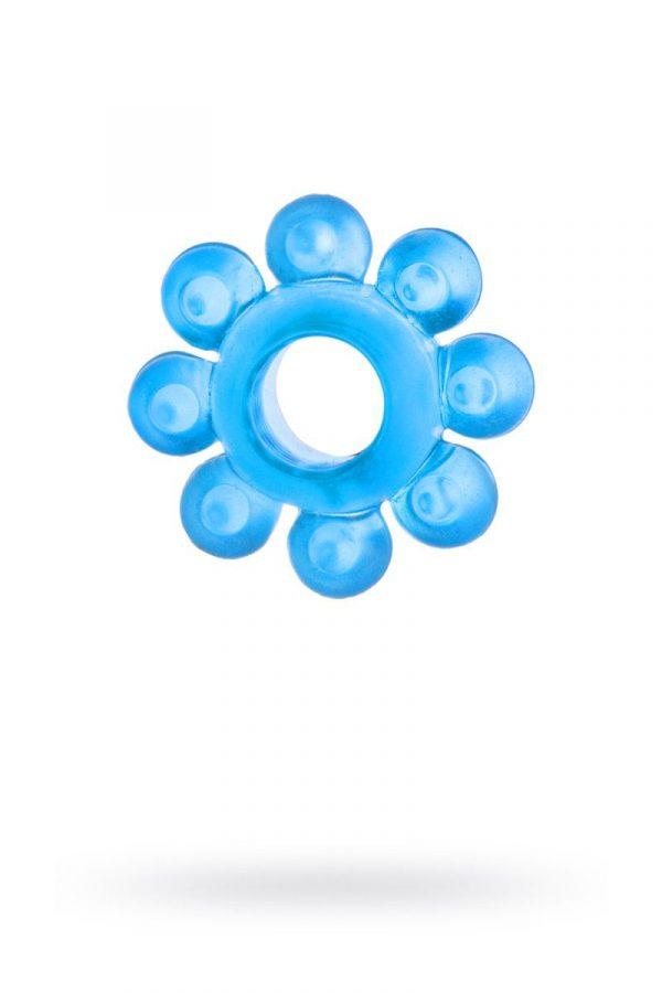 Голубая гелевая насадка-цветок - фото, отзывы