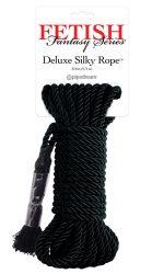 Черная веревка для фиксации Deluxe Silky Rope - 9,75 м.
