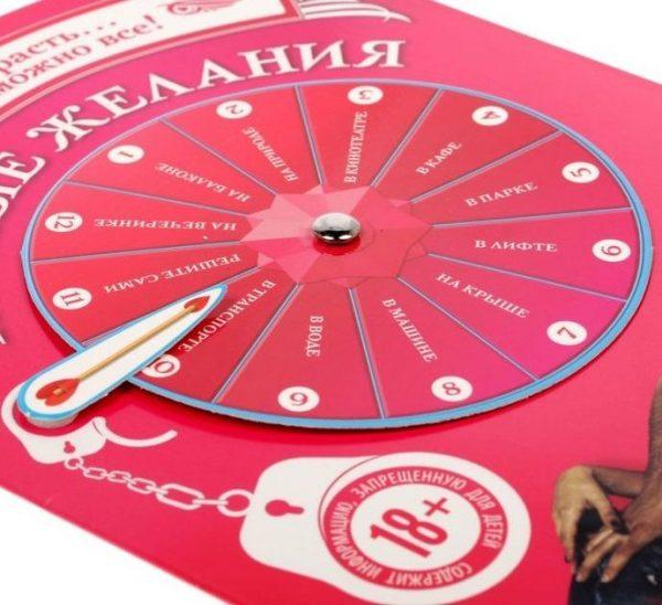 Интерактивная секс-игра Тайные желания - фото, отзывы