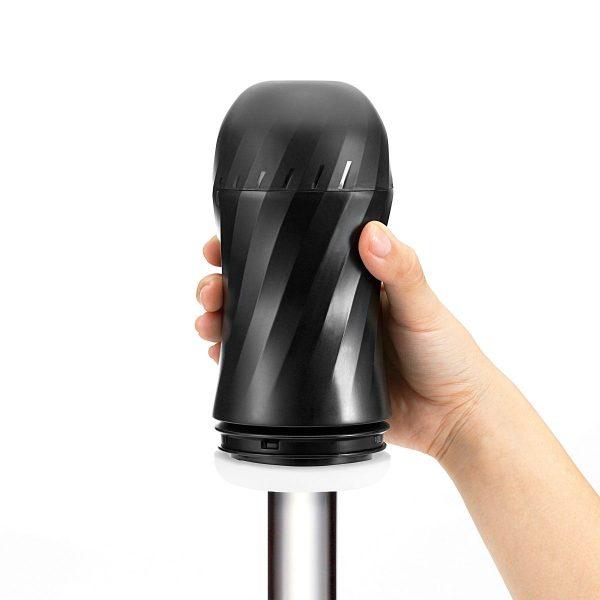 Мастурбатор с регулируемой плотностью обхвата Custom Strength CUP Twist Ripple - фото 5
