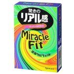 Презервативы Sagami Xtreme Miracle Fit - 5 шт.