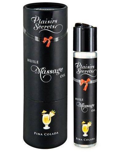 Массажное масло с ароматом пина колады Huile de Massage Gourmande Pina Colada - 59 мл.