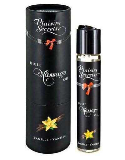 Массажное масло с ароматом ванили Huile de Massage Gourmande Vanille - 59 мл.