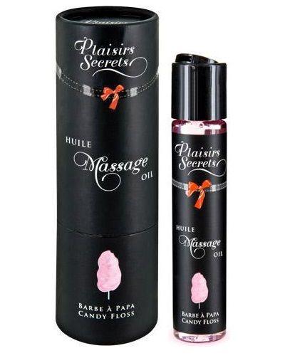Массажное масло с ароматом сладкой ваты Huile de Massage Gourmande Barbe à Papa - 59 мл.