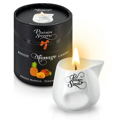 Массажная свеча с ароматом манго и ананаса Bougie de Massage Ananas Mangue - 80 мл.
