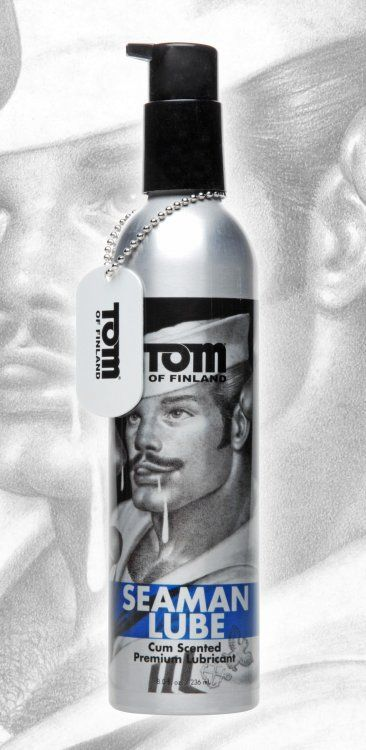 Лубрикант с запахом спермы Tom of Finland Seaman - 236 мл.