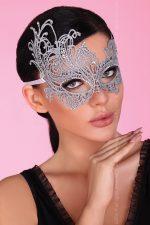 Серебристая ажурная маска Mask Silver
