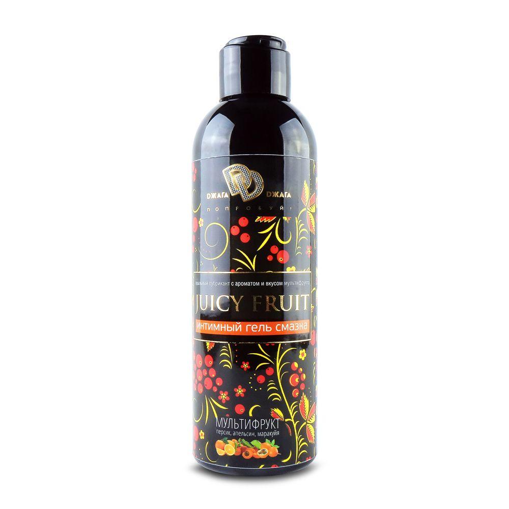 Интимный гель на водной основе JUICY FRUIT с ароматом фруктов - 200 мл.