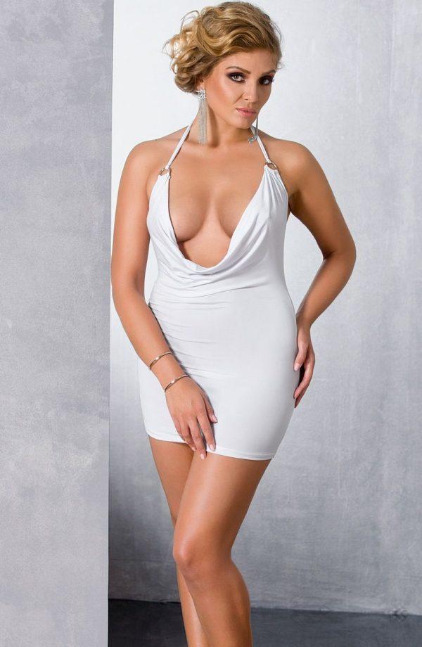 Роскошное платье с глубоким декольте Miracle - фото 3