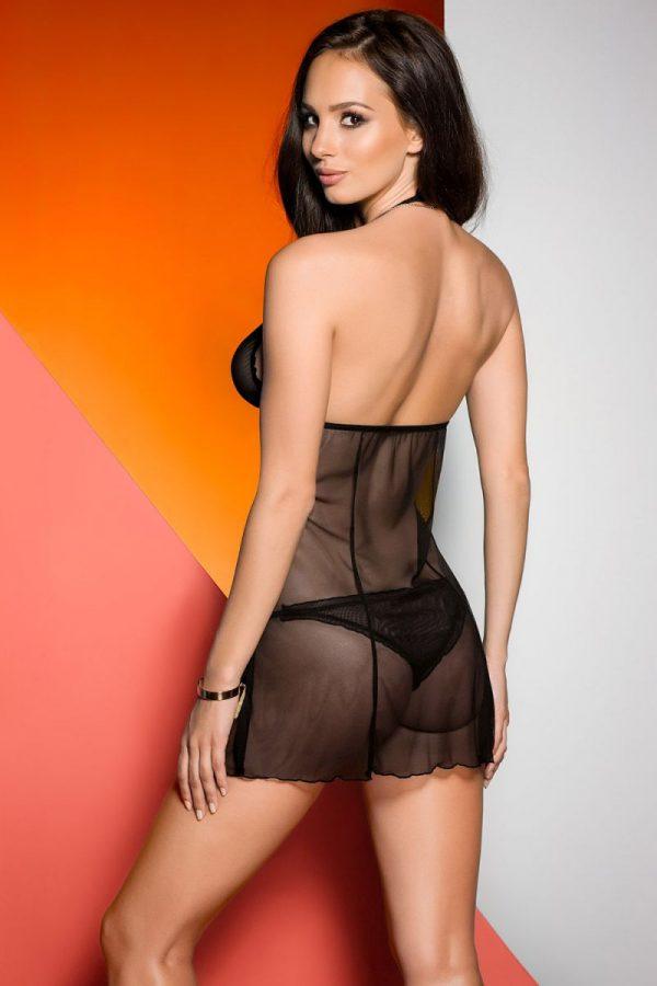 Тюлевая сорочка Sienna с полуоткрытой спинкой - фото, отзывы