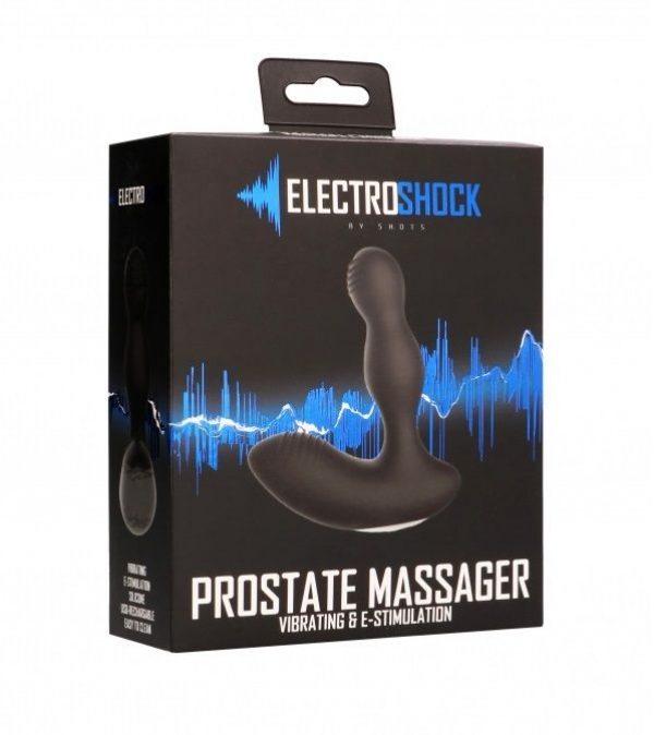 Массажёр простаты с электростимуляцией E-Stimulation Vibrating Prostate - фото 3