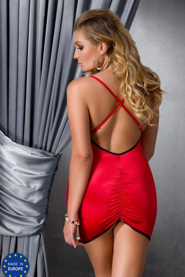 Соблазнительная сорочка Lena с открытой спинкой и сборкой на попке - фото, отзывы