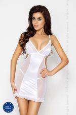 Облегающая сорочка Wilma с прозрачными вставками по бокам