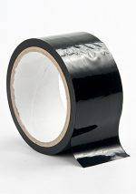 Черная лента для бандажа