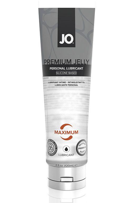 Лубрикант на силиконовой основе JO PREMIUM JELLY MAXIMUM - 120 мл.
