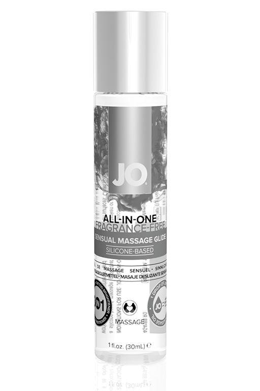 Массажный гель ALL-IN-ONE Massage Oil Sensual нейтральный - 30 мл.