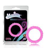 Розовое эрекционное кольцо из силикона Octopus Ring