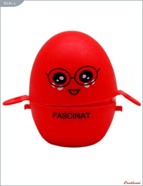 Красный мастурбатор-яйцо FASCINAT PokeMon - фото, отзывы