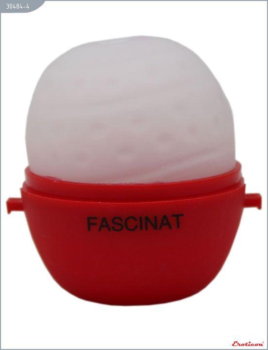 Красный мастурбатор-яйцо FASCINAT PokeMon - фото 3