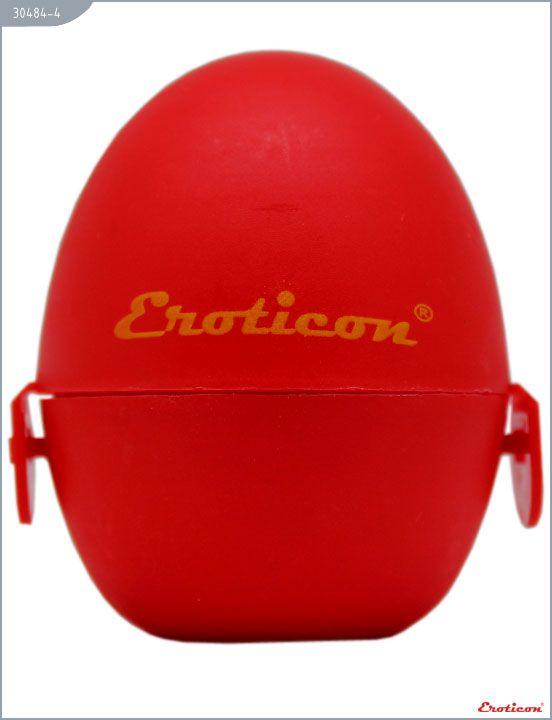 Красный мастурбатор-яйцо FASCINAT PokeMon - фото 4
