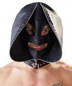 Двухслойный шлем-маска с отверстиями для глаз и рта